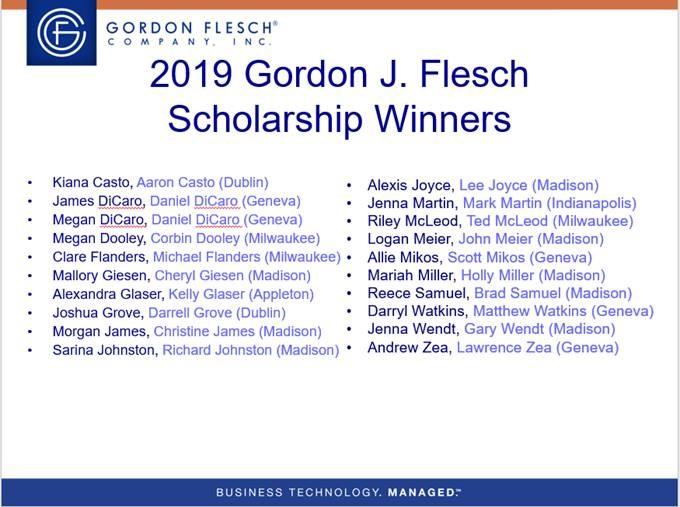 Scholarships2019