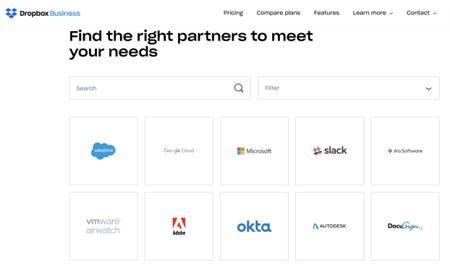 Dropbox Business Screenshot