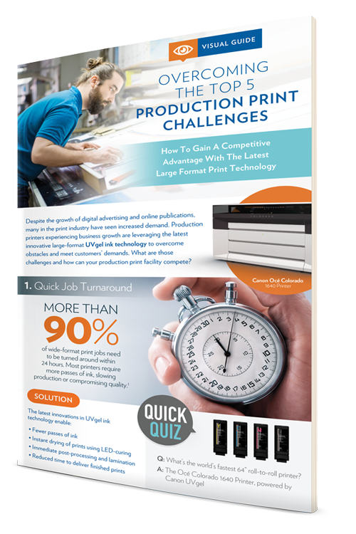 Infographic: Overcoming the Top Production Print Challenges