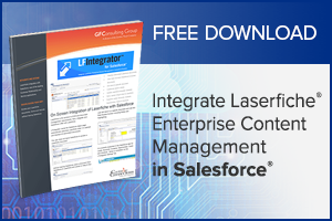 Laserfiche ECM Integration with Salesforce