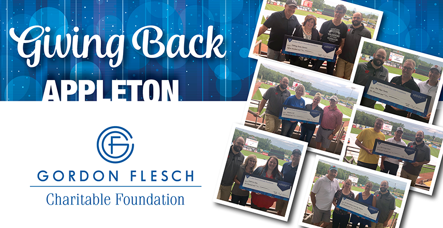 Gordon Flesch Charitable Foundation Donates $25,000 to Appleton-Area Charities