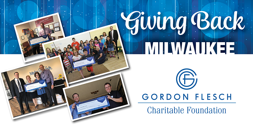 Gordon Flesch Charitable Foundation Donates $20,000 to Milwaukee-Area Charities