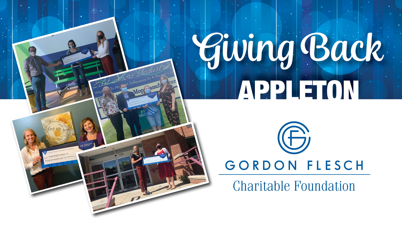 Gordon Flesch Charitable Foundation Donates $11,500 to Appleton-Area Charities