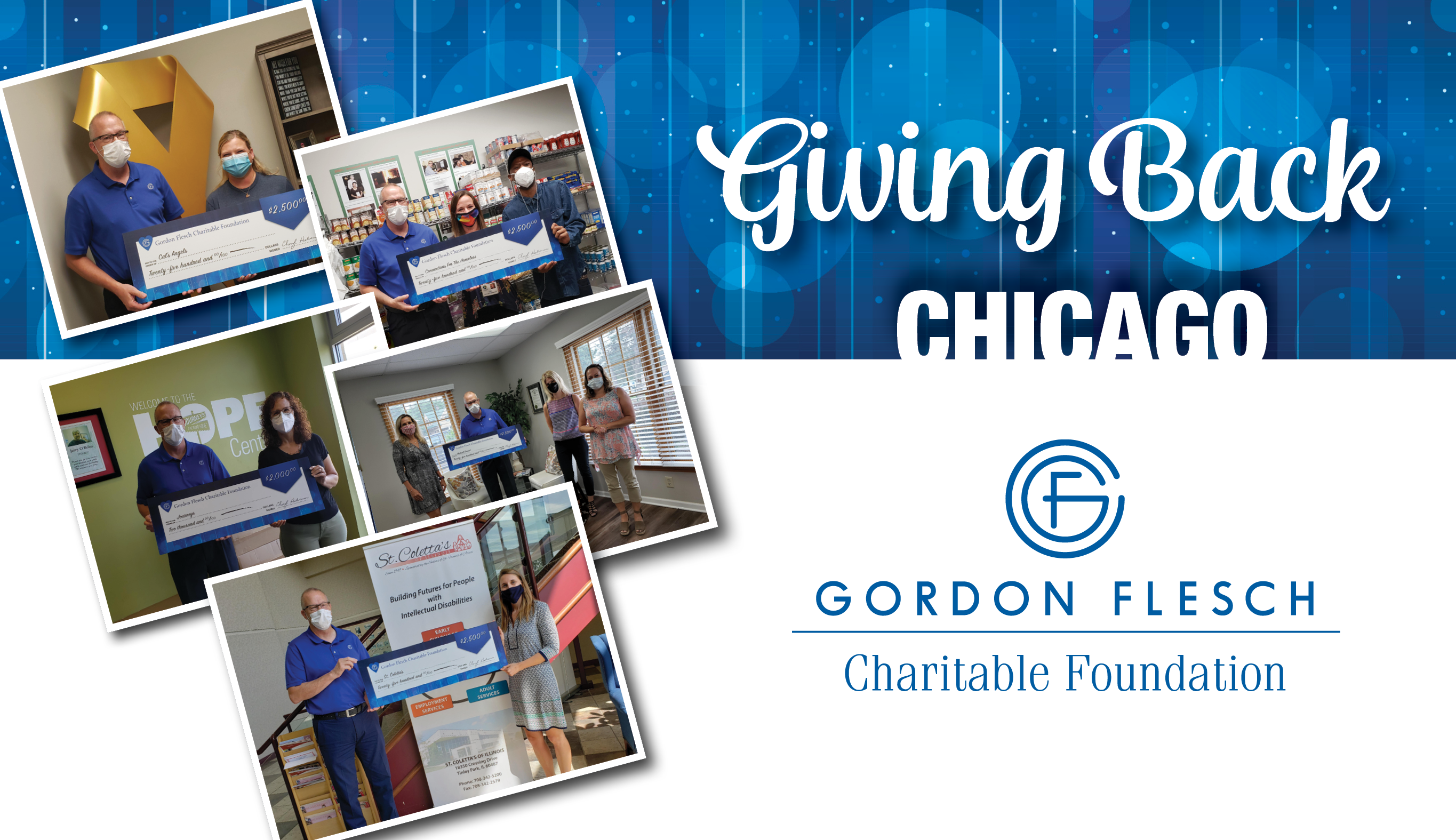 Gordon Flesch Charitable Foundation Donates $12,000 to Chicago-Area Charities