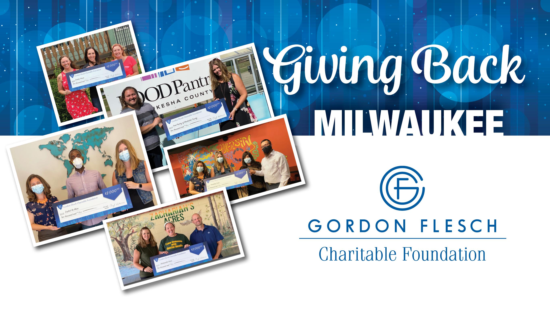 Gordon Flesch Charitable Foundation Donates $12,000 to Milwaukee-Area Charities