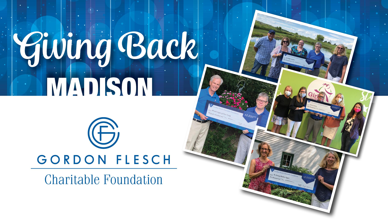Gordon Flesch Charitable Foundation Donates $11,500 to Madison-Area Charities