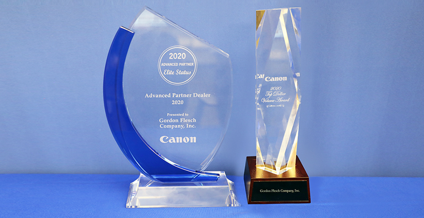 Gordon Flesch Company Honored as the Highest-Earning Canon Dealership in the United States for Seven Years Running
