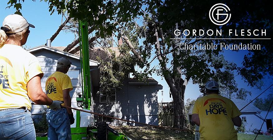 Gordon Flesch Charitable Foundation Donates $5,000 to Cedar Rapids Storm Recovery Efforts