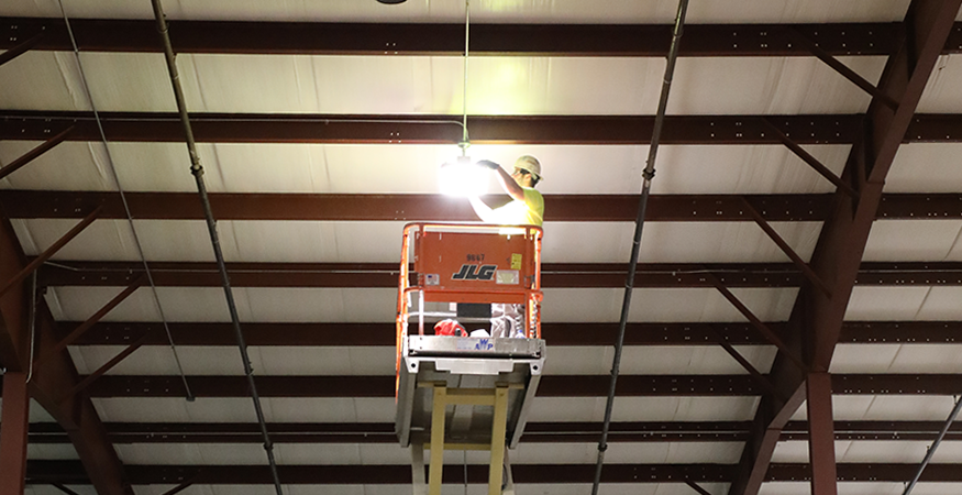 Gordon Flesch Company Adopts Environmentally Friendly LED Lights to Lower Energy Consumption