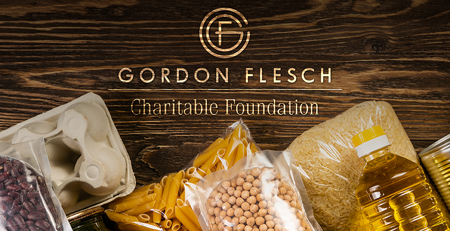Gordon Flesch Charitable Foundation to Donate $14,000 to Food Banks to Help Those Impacted by Coronavirus