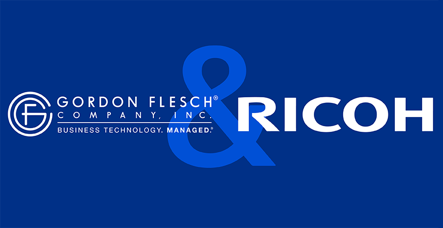 Gordon Flesch Company Becomes Authorized Ricoh Family Group Dealer Partner