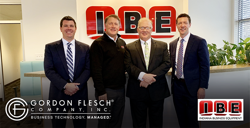 Gordon Flesch Company Acquires Indiana Business Equipment, a Leading Canon Dealer