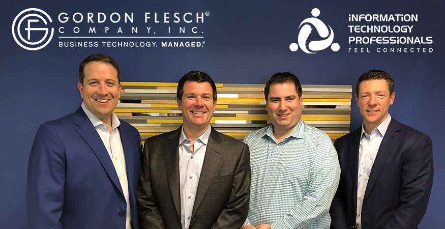 Gordon Flesch Company Acquires ITP, Creating One of the Midwest's Largest and Most Capable Managed Service Providers