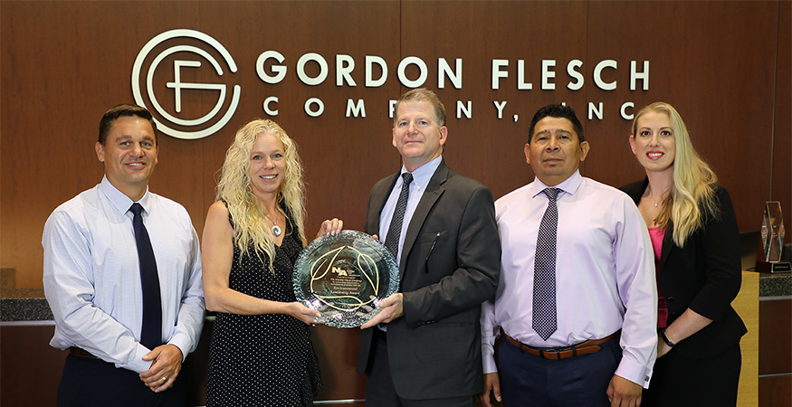 Gordon Flesch Company Honored to Receive Environmental Leadership Award