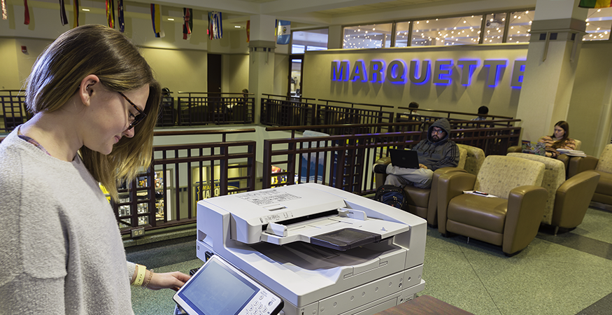 Managed Print Case Study: Marquette University