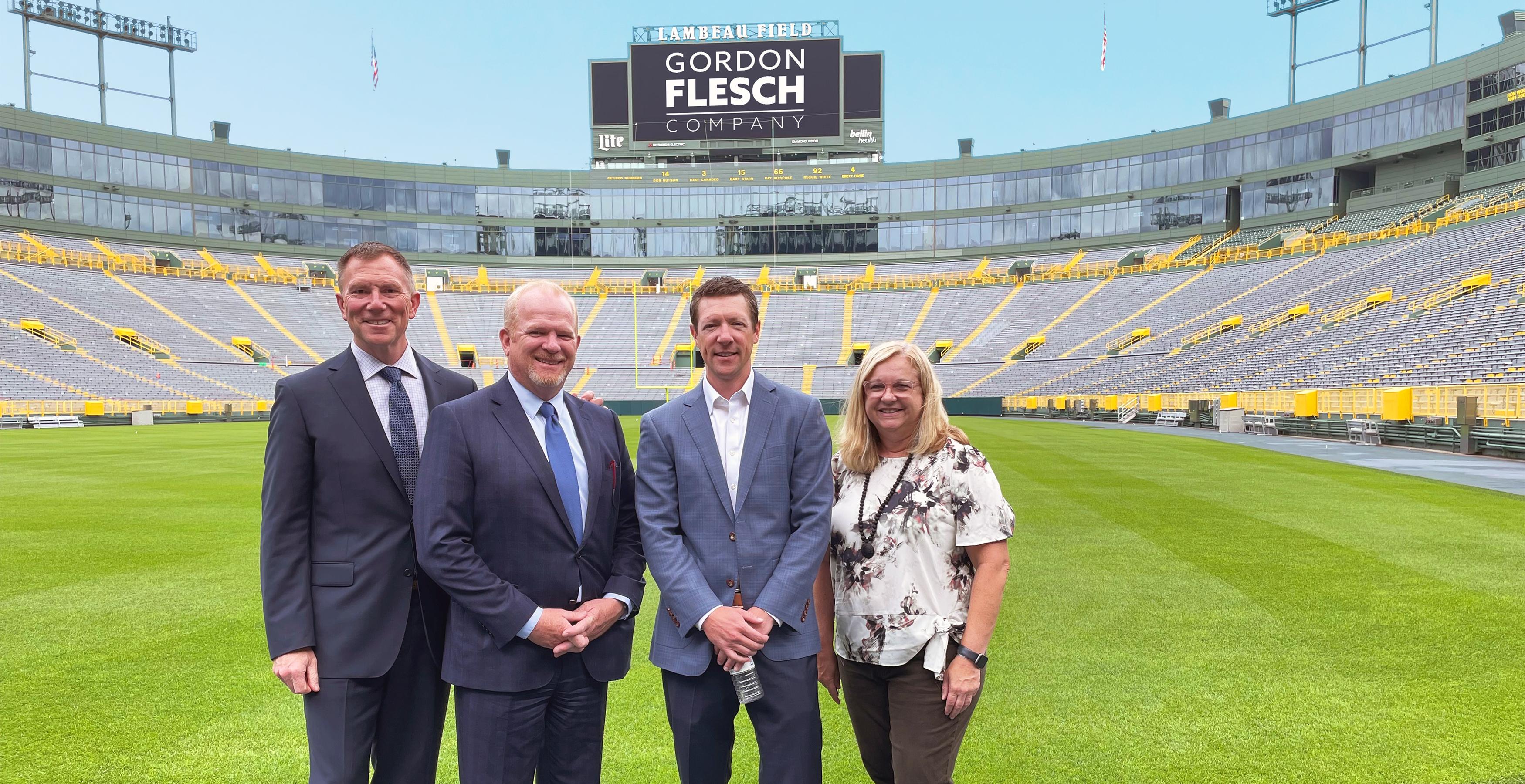 Green Bay Packers, Gordon Flesch Company Announce New Partnership