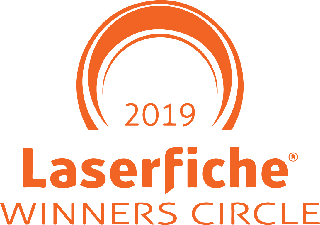 2019 Laserfiche Winners Circle