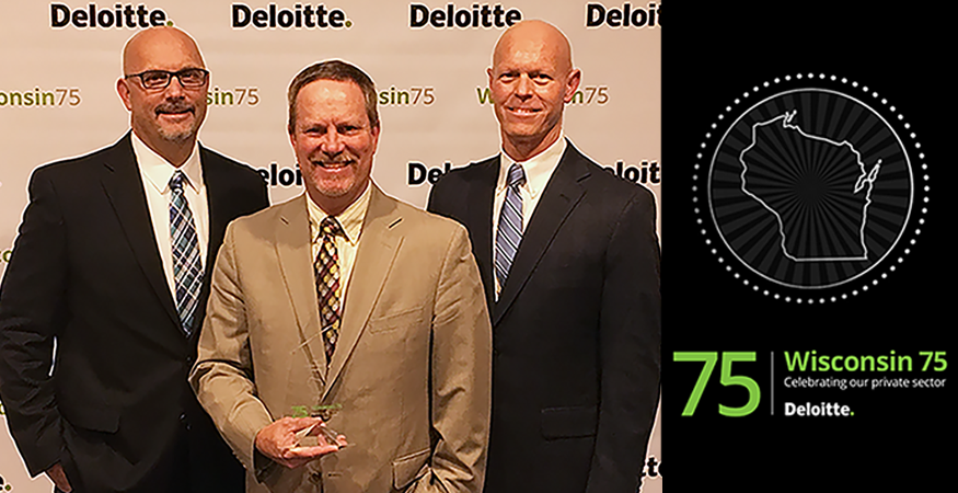 Gordon Flesch Company Named to Deloitte's Wisconsin 75 List for the 15th Year
