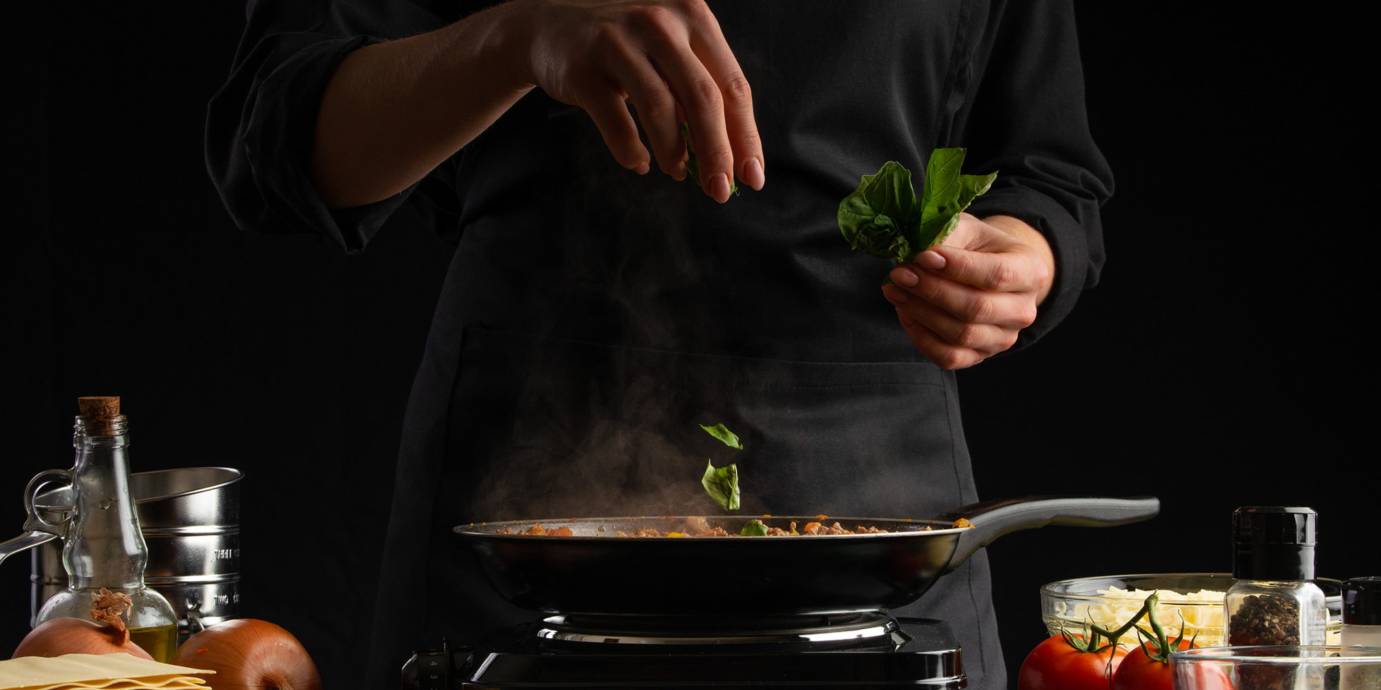 chef-holding-leaves