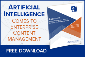 Artificial Intelligence Comes to Enterprise Content Management