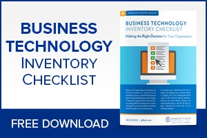Business technology inventory checklist.