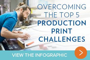 Overcoming the top 5 production print challenges.