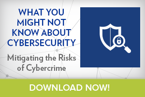 What you might not know about cybersecurity. Mitigating the risk of cybercrime