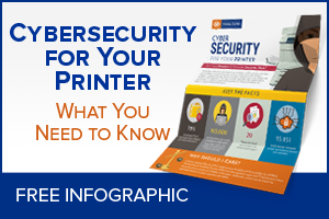 Cybersecurity for your printer. What you need to know.