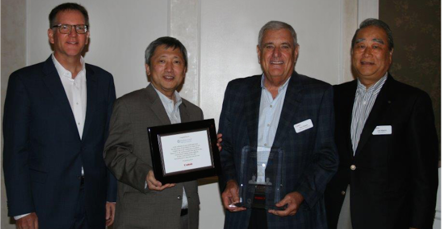 Canon U.S.A. Presents Gordon Flesch Company with Award for 60th Anniversary